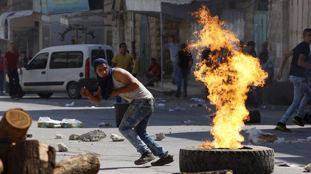 "Médio Oriente: ""Dia de raiva"" na Cisjordânia"