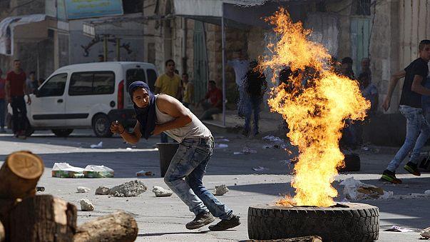 """Rendőrök és tüntetők is megsérültek a """"harag napján"""" Jeruzsálemben"""