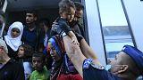 المئات من اللاجئين يصلون إلى الحدودالشمالية الشرقية للمجر قادمين من كرواتيا