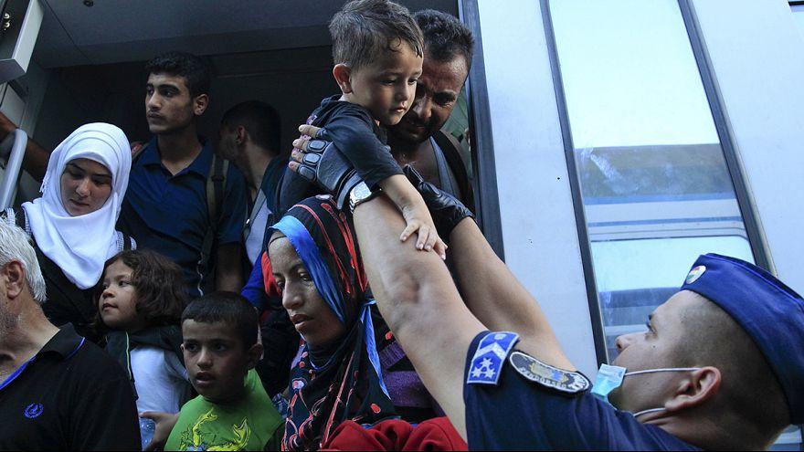 Most Horvátország felől érkezik a legtöbb menekült