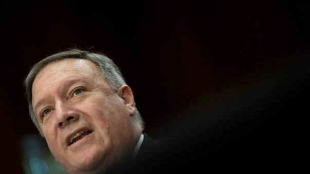 Image: CIA Director Mike Pompeo testifies before a Senate Foreign Relations