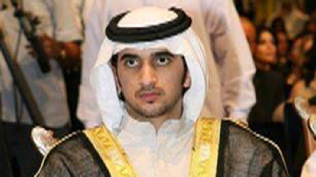 وفاة الشيخ راشد نجل حاكم دبي