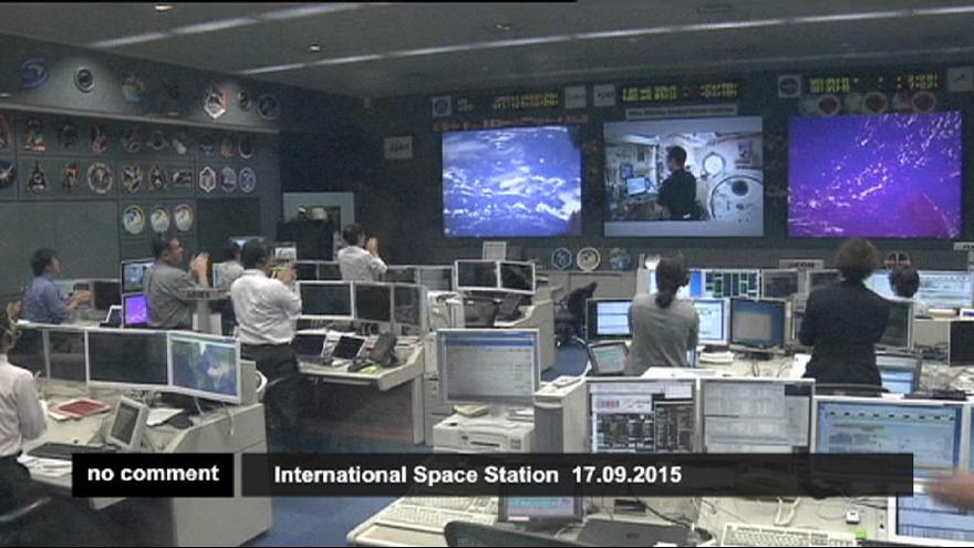 A Japanese astronaut has released a meteor observation microsatellite from the International Space Station
