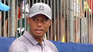 لاعب الغولف الامريكي تايغر وودس يجري عملية على ظهره