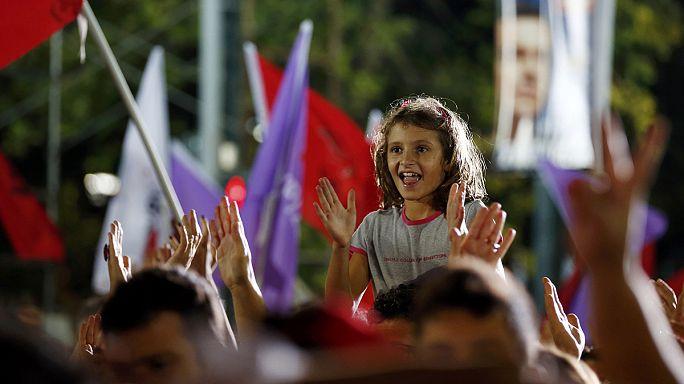 للمرة الثالثة هذا العام اليونانييون يتوجهون الى صناديق الاقتراع