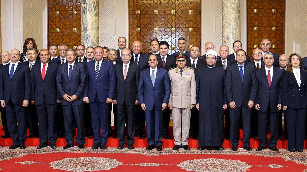 اليمين الدستورية للحكومة المصرية الجديدة