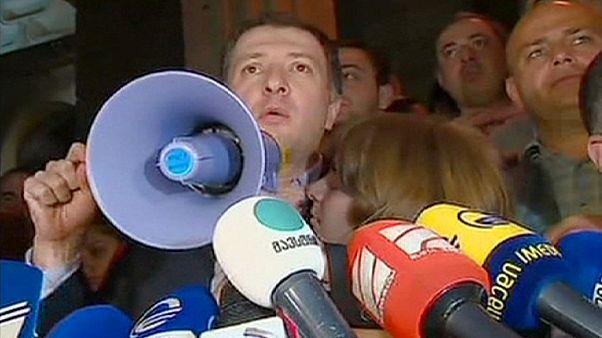 El exalcalde de Tiflis entra en la cárcel por corrupto