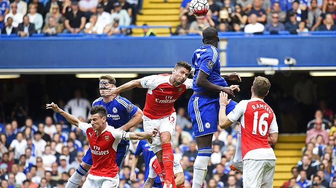 Chelsea-Arsenal kakaskodás: két gól, két kiállítás