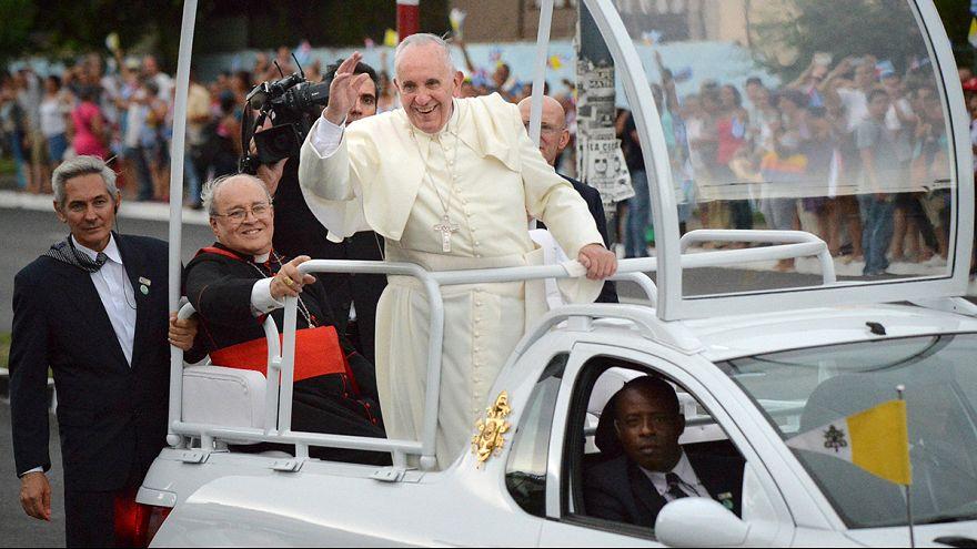 Megérkezett a pápa Kubába