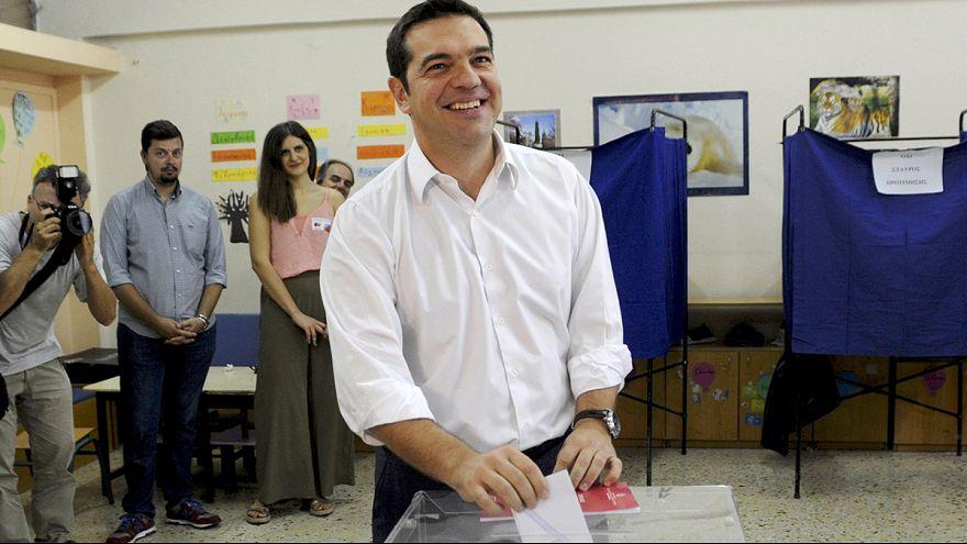 Yunanistan'da seçimin favori ismi Aleksiz Çipras oyunu kullandı