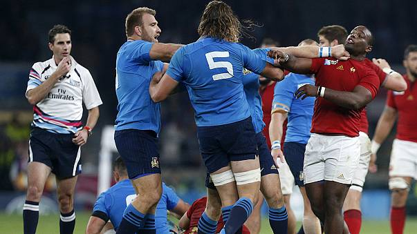 Rugby World Cup 2015: France penalty kick to win 32-10 over Italy