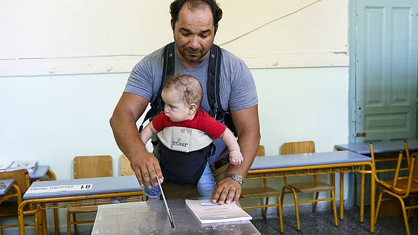Little drama as Greeks return to polls for third time this year