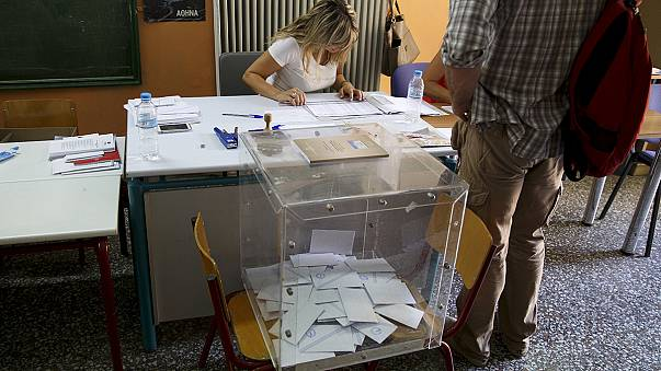 Live updates: Low turnout so far as Greeks vote for third time this year