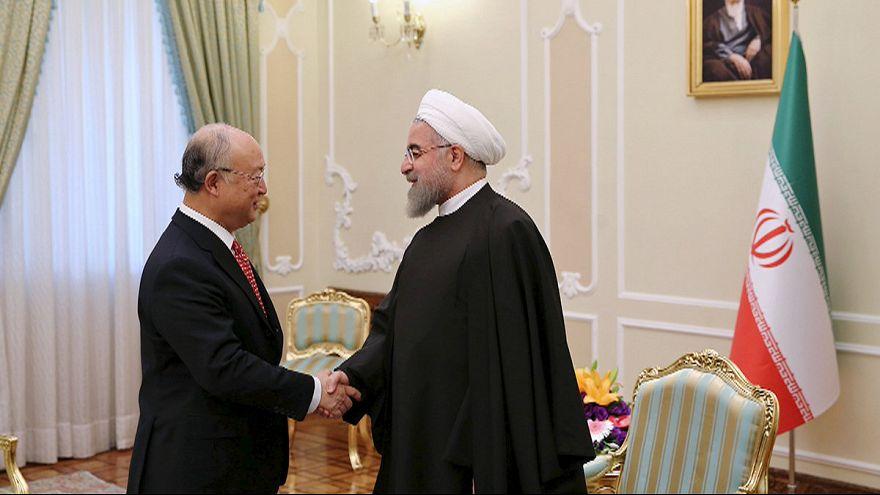IAEA Genel Direktörü Yukiya Amano Tahran'da