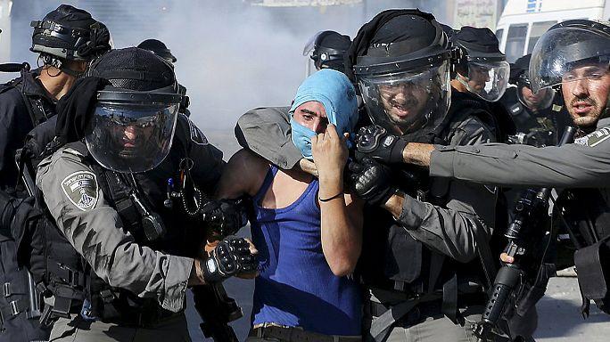 Israël : les balles réelles autorisées contre les lanceurs de pierre palestiniens