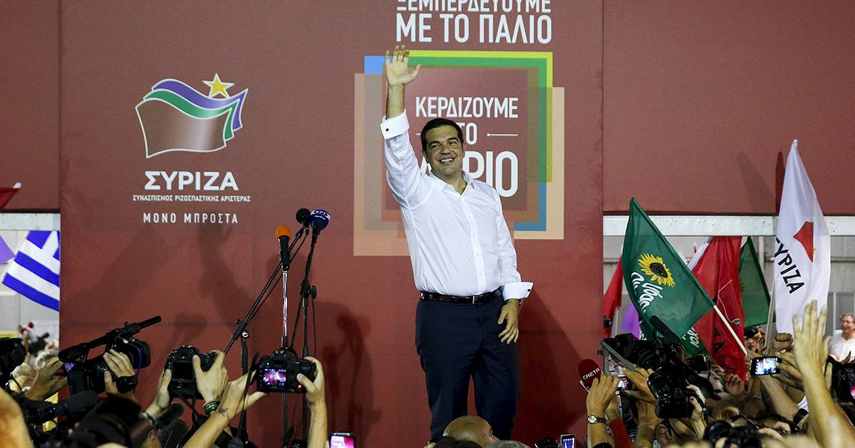Syriza leads ERT exit poll after Greek election | euronews, world news
