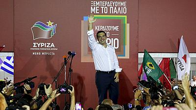 Greeks back Tsipras once more as Syriza surges to election victory