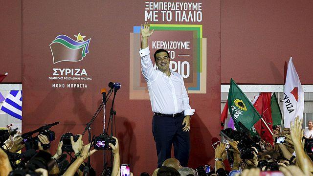 """Griechenland: Tsipras spricht vom """"Sieg der Arbeiterklasse"""", will alte Koalition fortsetzen"""