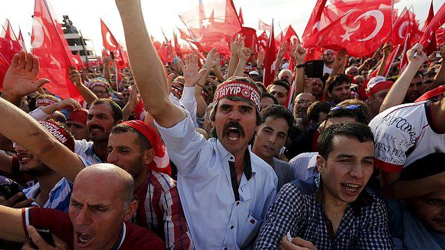 100,000 attend 'anti-terrorism rally' in Istanbul, Turkey
