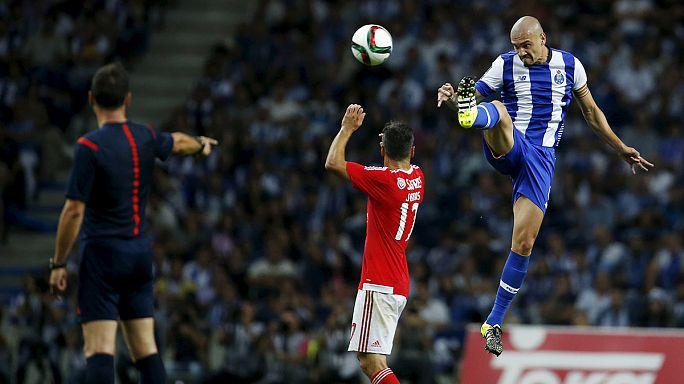 Liga Portuguesa, J5: Sporting iguala FC Porto e Benfica fica a 4 pontos
