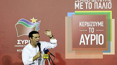 Tsipras returns as PM in decisive Greek election