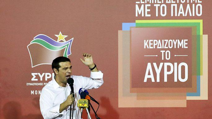 """A """"desforra"""" de Tsipras: Vitória do Syriza com partidos pró-euro maioritários no parlamento"""