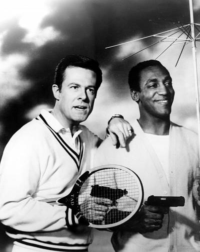 Robert Culp and Bill Cosby in