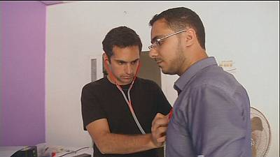 Un estetoscopio de bajo coste para los pacientes de Gaza