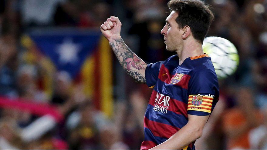 El Barça logra un póquer de goles en la segunda parte para seguir líder por delante del Madrid