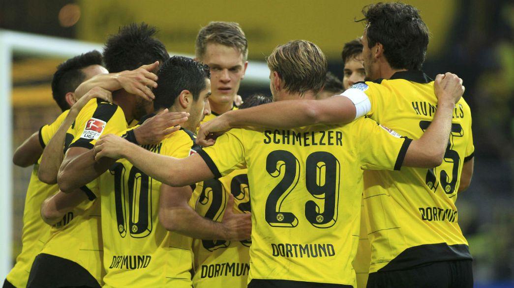 O Borussia Dortmund está de volta