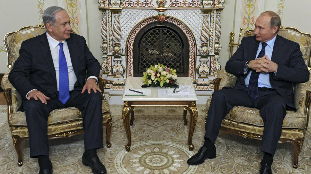 Putin y Netanyahu abordan el conflicto sirio en Moscú