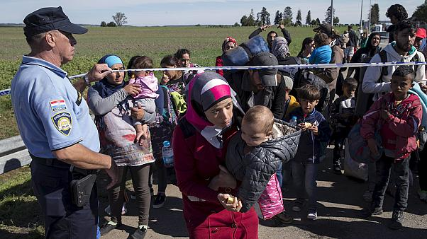 Hungary's army can shoot rubber bullets and tear gas at refugees