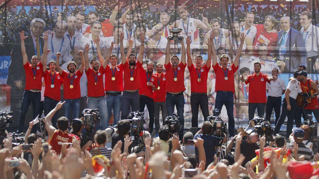 A kosárkirályokat ünnepelte Spanyolország