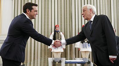 Syriza-Chef Alexis Tsipras als Ministerpräsident vereidigt