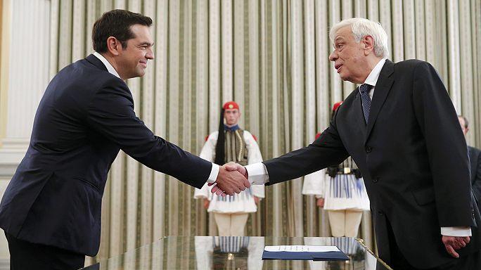 Grèce : Alexis Tsipras a prêté serment