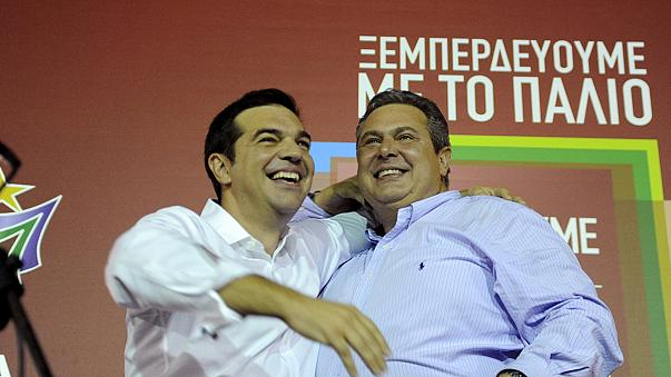 اقدامات پیش روی دولت جدید یونان