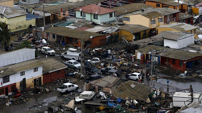 В Чили произошло новое землетрясение
