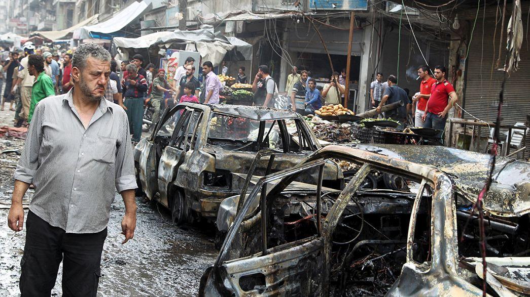 Al menos 18 civiles mueren por un bombardeo del Ejército sirio en Alepo