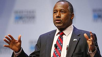 Ben Carson called on to quit US presidential race over Islam remarks