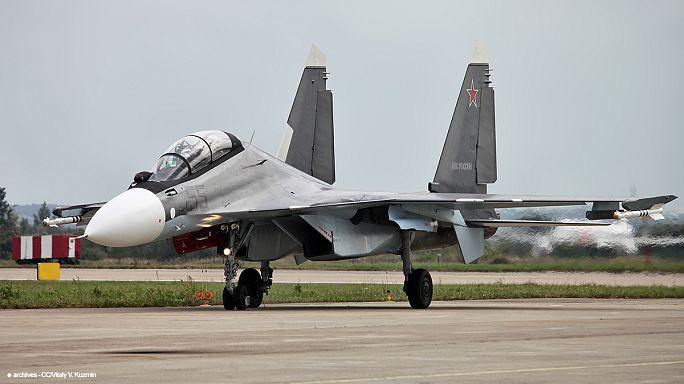 Orosz harci gépeket azonosítottak műholdak Szíriában