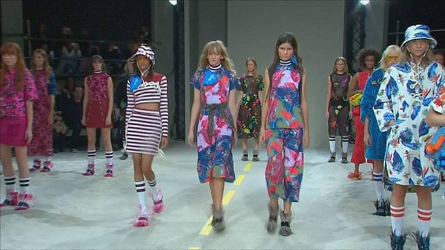 Лондонская неделя моды: от Вествуд до Версаче