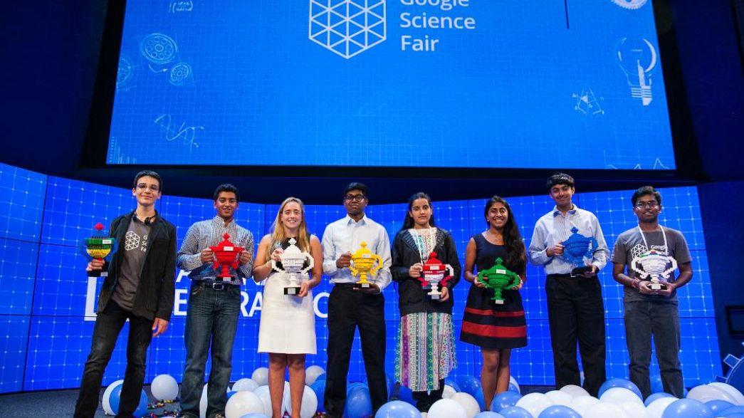 معرض جوجل للعلوم: مراهقون سيغيرون العالم