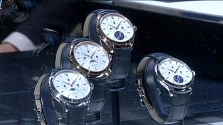 کاهش صادرات ساعت های سوئیسی در ماه اوت