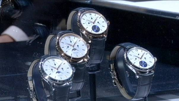 Swiss watch exports fall as Apple dents demand