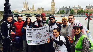 Λονδίνο – Αθήνα με ποδήλατο για τα παιδιά με καρκίνο