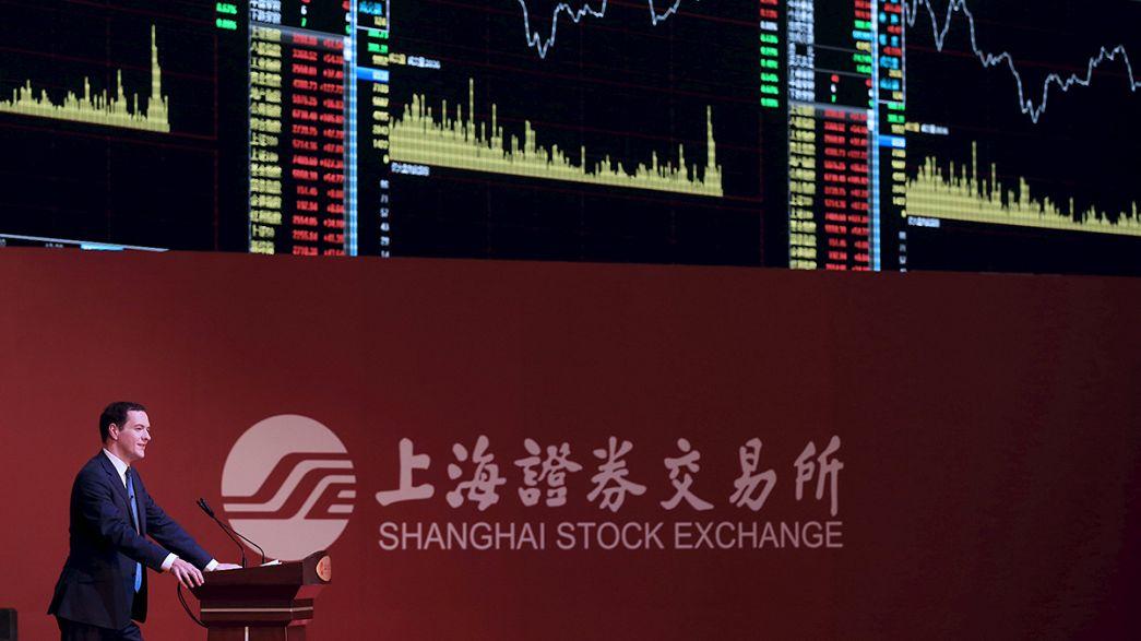 Flirt zwischen den Börsen in London und Shanghai