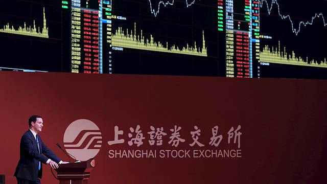 Osborne outlines plan to link UK-China stock markets