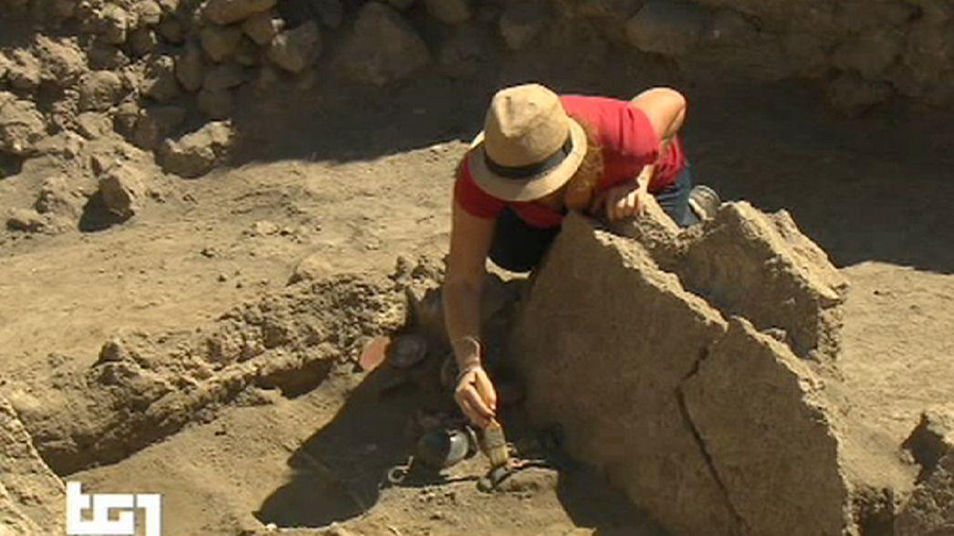 Túmulo do século IV a.C. encontrado em Pompeia