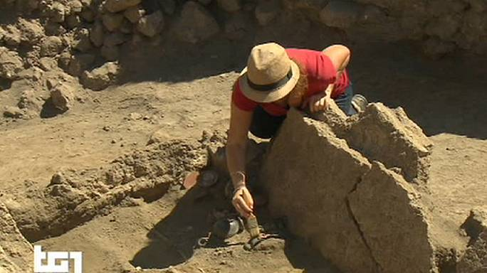 Pompéi : découverte d'une tombe du IVè siècle avant notre ère