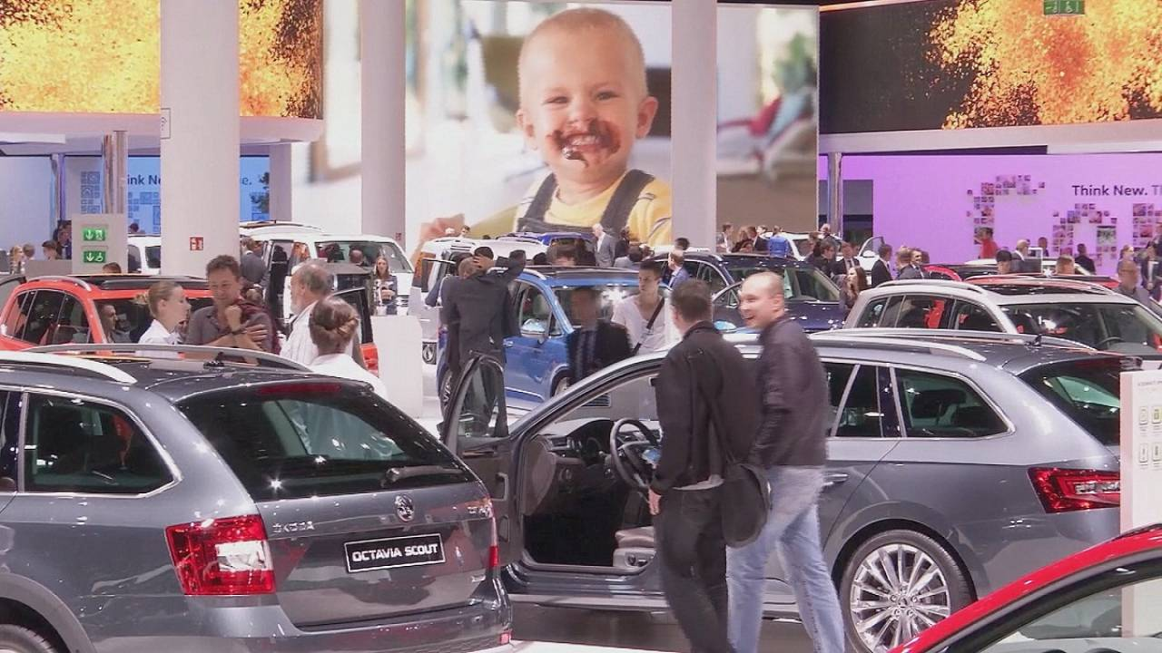 Os carros conceptuais apresentados no Salão do Automóvel de Frankfurt